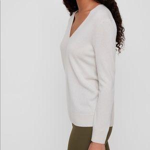 The Group Babaton Luxe V-neck Sweater Sz XXS